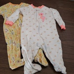 Other - 3-6m footed pjs small bundle